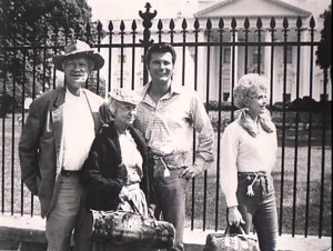 Jed Clampett and family