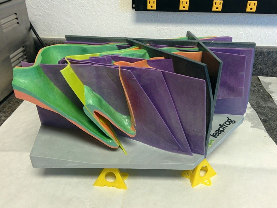 Leapfrog 3D Geological Model