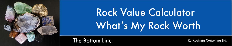 rock economic value