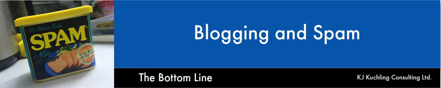 blogs and spam