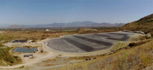 Filtered tailings stack