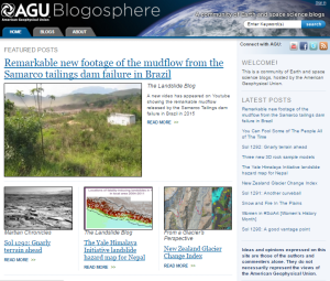 Landslide Blog screenshot