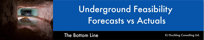 underground costing