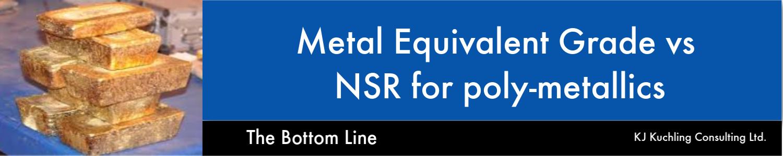 NSR for poly-metallics